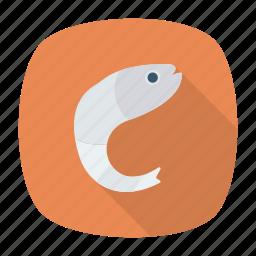fish, jellyfish, seafood, shark icon