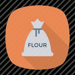 bag, flour, grain, wheat icon