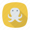 fish, food, sea, shrimp icon