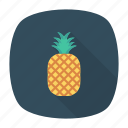 eat, food, fruit, pineapple icon