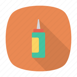bottle, chili, ketchup, spicy icon