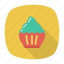 bakery, cake, muffin, sweet