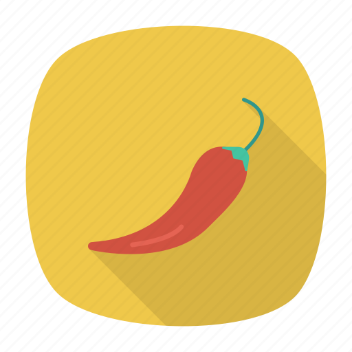 chili, pepper, spice, vegetable icon
