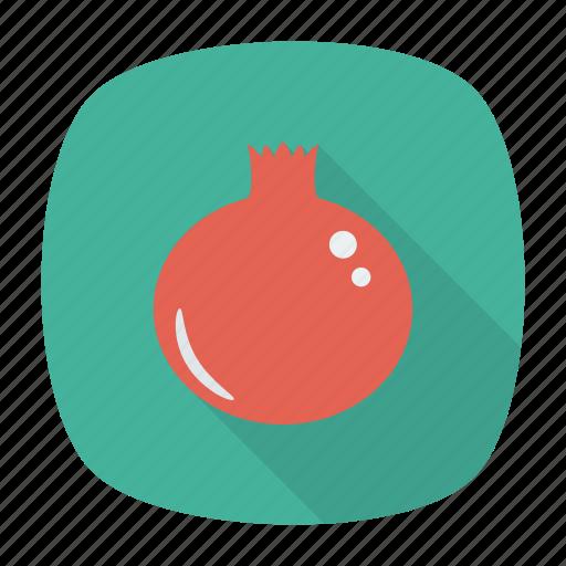 food, fruit, health, pomegrante icon