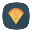 fastfood, junk, pizza, slice icon