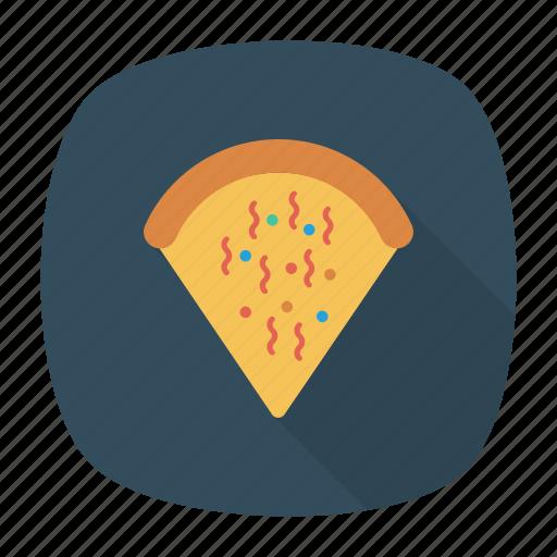 fastfood, junk, pizza, slice icon