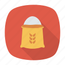 crop, food, grain, wheat icon