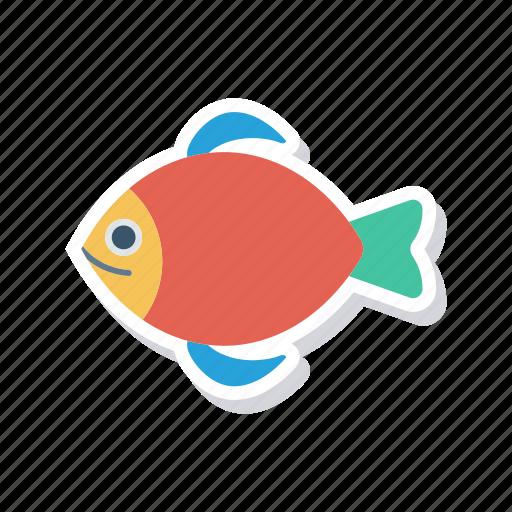 fish, food, jellyfish, shark icon