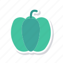 capsicum, chili, pepper, vegetable icon