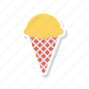 cold, cone, cream, ice icon