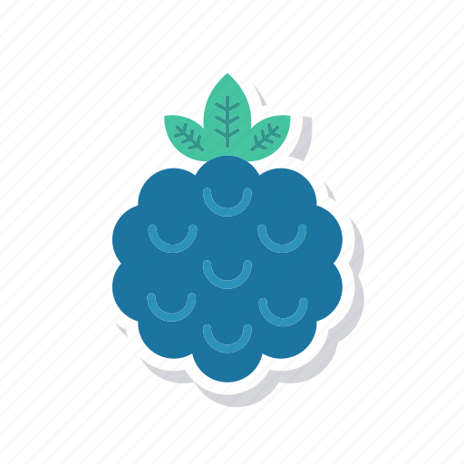 blueberry, eat, fruit, healthy icon