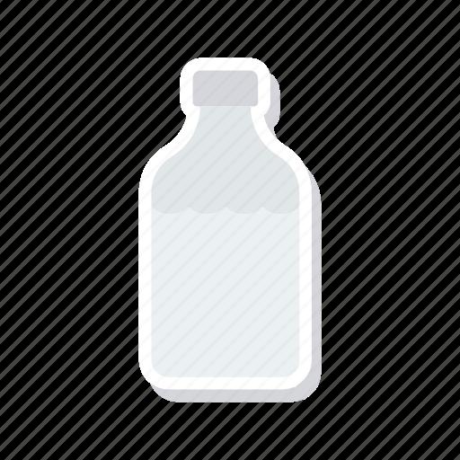 aqua, bottle, milk, water icon