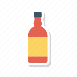 beer, bottle, water, wine icon