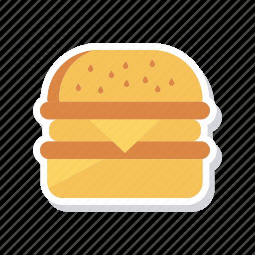 burger, eating, fastfood, junk icon