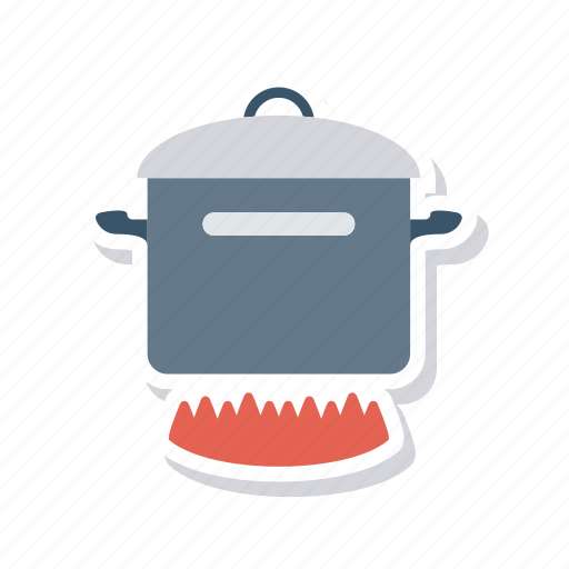 burner, cooking, hot, kitchenware icon