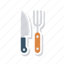 cork, kitchen, knife, spoon icon