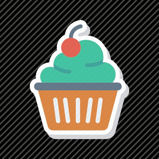 bakery, cupcake, muffin, sweet icon