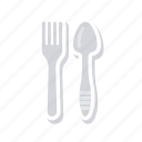 fork, kitchen, resturant, spoon icon