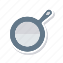 cooking, frying, kitchen, pan icon