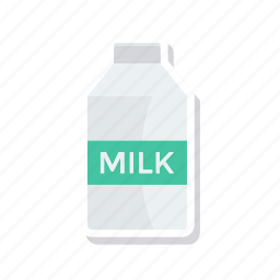 bottle, drink, milk, pack icon