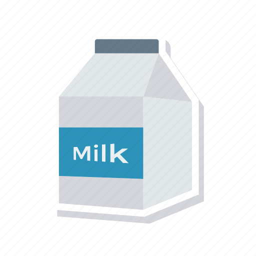 bottle, milk, pack, packet icon
