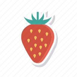 eat, fruit, healthy, strawberry icon