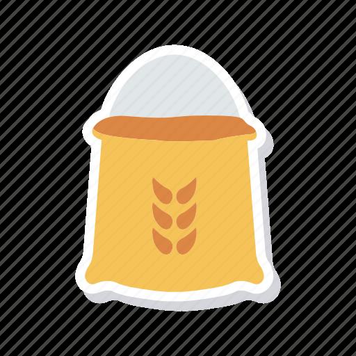 crop, food, grain, wheat icon