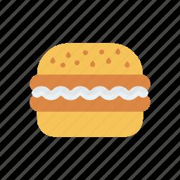 burger, eat, fastfood, junk icon