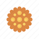 bakery, biscuit, cookies, muffin icon