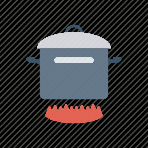 burner, cooking, hot, kitchenware icon
