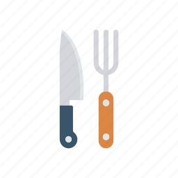 cork, kitchen, knife, spoon icon