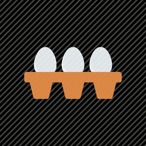 edd, fried, omelette, yolk icon