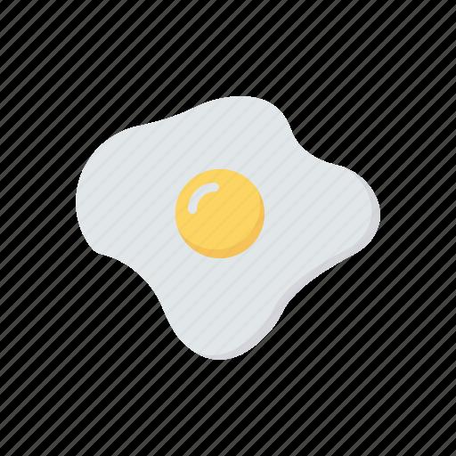 breakfast, eat, egg, omelette icon