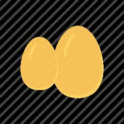 egg, fried, omelette, yolk icon