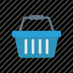 basket, fruit, trolley, vegatable icon