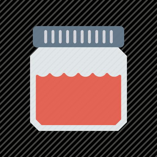 bottle, food, jam, jar icon