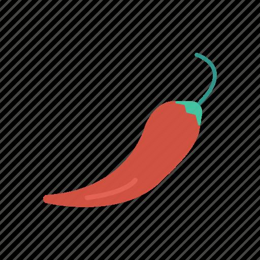 chili, pepper, spice, vegetable icon