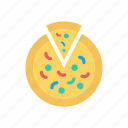 food, junk, pizza, slice icon