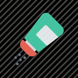 bottle, jar, salt, shaker icon