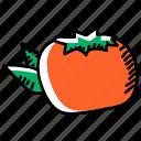 persimmon, persimmon fruit, organic food, healthy diet, fruit