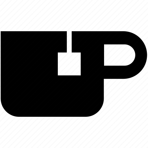 cup, drink, food, glyph, hot drink, hot tea, tea icon