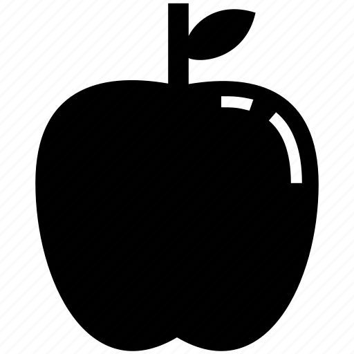 apple, apple juice, food, fruit, glyph icon
