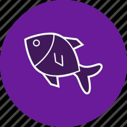 fish, food, sea, snapper icon