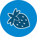 fruit, strawberries, strawberry icon