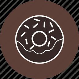 donut, doughnut, snack, sweet icon