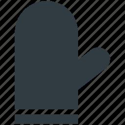 chef gloves, cooking gloves, glove, kitchen glove, mitten icon