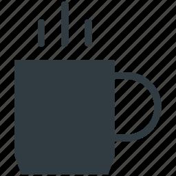 beverage, coffee mug, hot drink, hot tea, tea mug icon