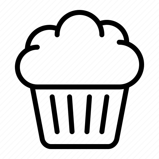 bakery, cake, cup, cupcake, dessert, ios, muffin icon