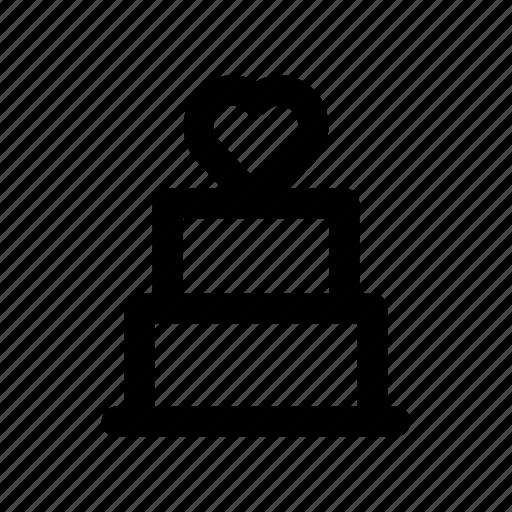 birthday, cake, celebration, like, party icon