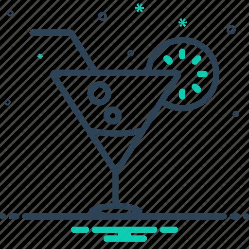 beverage, cocktail, kamikaze, lime, liqueur icon